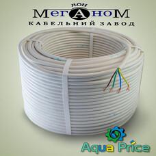 Кабель Меганом ПВС 4-0.75 белый