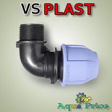 """Угол VS-plast 25-1"""" НР"""