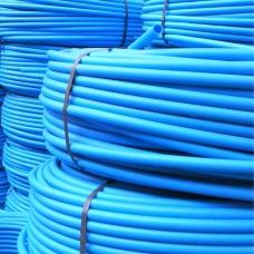 Труба 32x2.4мм ПЭ 100 Aquamarine (синяя) PN 10