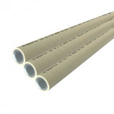 Труба 110 mm Kalde PPR Super Pipe PN 25 алюминиевая фольга