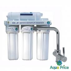 Система 4-х ступенчатой очистки воды Bio+ Systems SL204-GLLR-0888