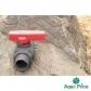 Кран шаровый Presto-PS 25 мм с наружной и внутренней резьбой 1 дюйм (PFV-0132) для монтажа поливу