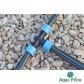 Тройник зажимной Presto-PS для капельной ленты (TT-0117) для монтажа полива