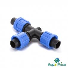 Тройник зажимной Presto-PS для капельной ленты (TT-0117)