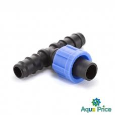 Тройник-ершик для капельной трубки 16мм ВТ-021716 Presto-PS