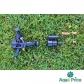 Дождеватель Presto-PS ороситель импульсный для огорода на 2 форсунки с резьбой 1/2 дюйма (RS 5022-7)