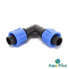 Угол зажмите для капельной ленты ЕТ-0117 Presto-PS