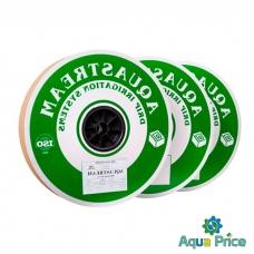 Капельная лента AquaStream капельницы через 10 см, расход 1 л/ч, длина 1000 м (D16-06-100-1-1000)