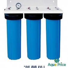 """Система 3-х ступенчатой очистки воды Bio+ Systems L03 BB 20"""""""