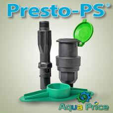"""Водяная розетка с резьбой 1"""" QV-0110 Presto-PS"""