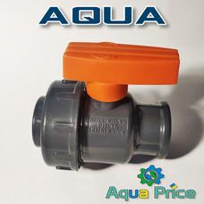 Кран Aqua 3/4 ВВ пластиковый