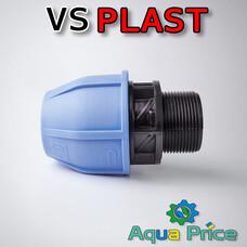 """Муфта VS-plast 40-1 1/2"""" НР"""