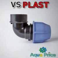 """Угол VS-plast 40-1 1/2"""" ВР"""