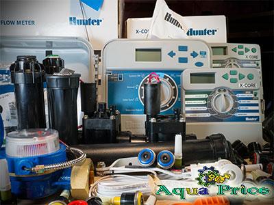 Оборудование для автоматического полива газона