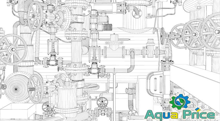 Схема трубопроводной арматуры